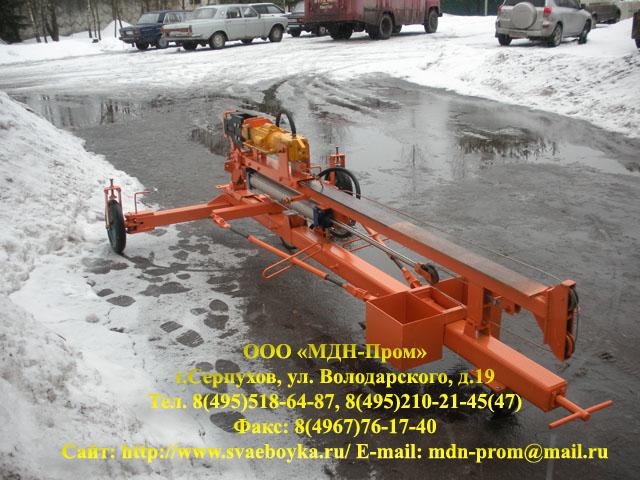 Сваебойная установка ДСЗУ-09